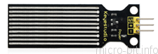 micro:bit P31:水位センサー