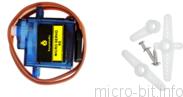 micro:bit P37:マイクロサーボモーター