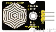 micro:bit P33:蒸気センサー